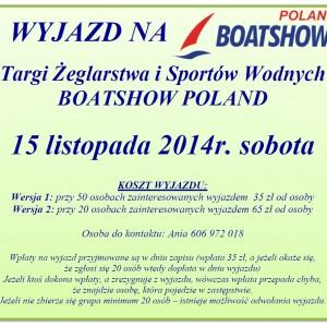 Targi Żeglarstwa i Sportów Wodnych BOATSHOW w Łodzi